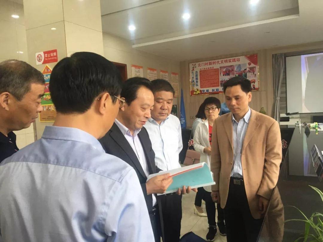 宜兴市人大常委会副主任徐志军带队来张渚镇