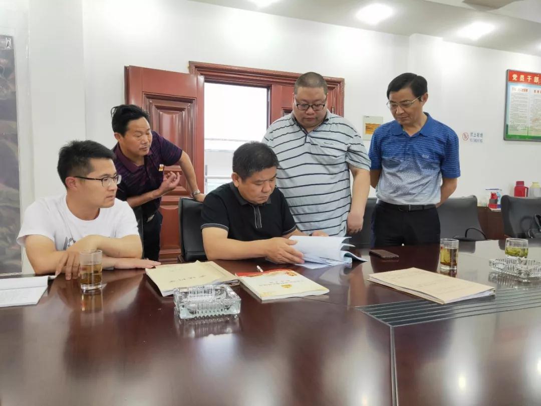 张渚镇开展扫黑除恶专项斗争督导工作
