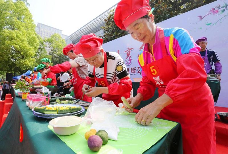 丁蜀镇成功举办宜兴市首届企业退休人员厨艺