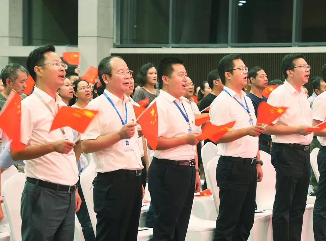 """丁蜀镇举办""""壮丽七十年、舞动新时代""""大型文艺演出活动"""