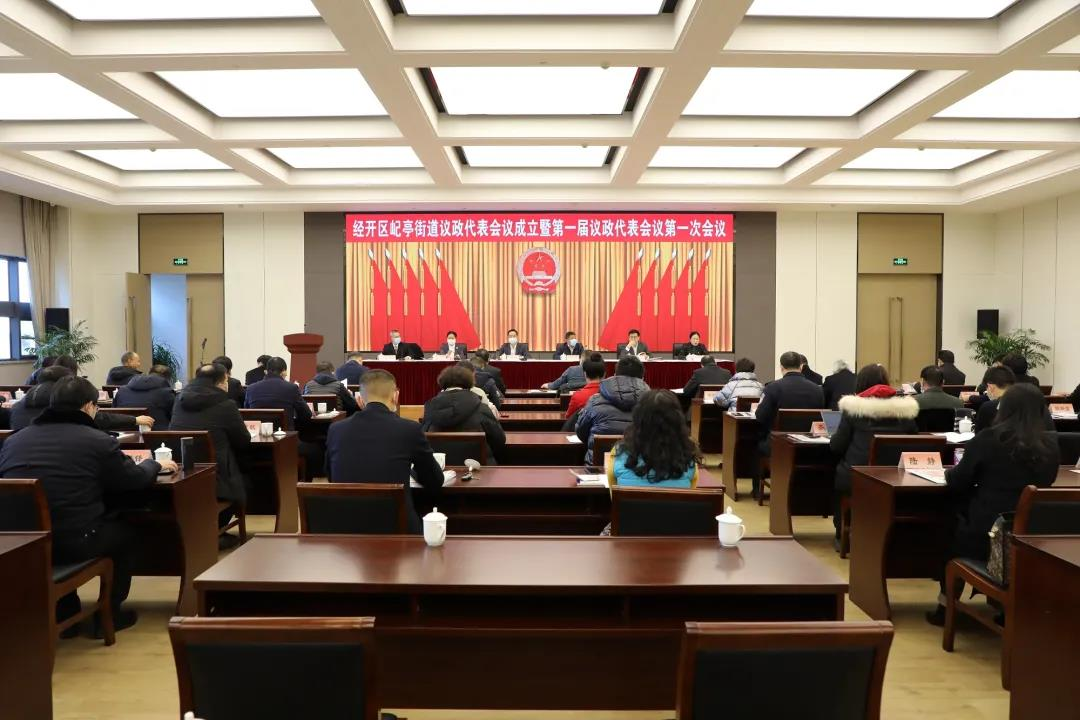 经开区屺亭街道议政代表会议成立暨第一届议
